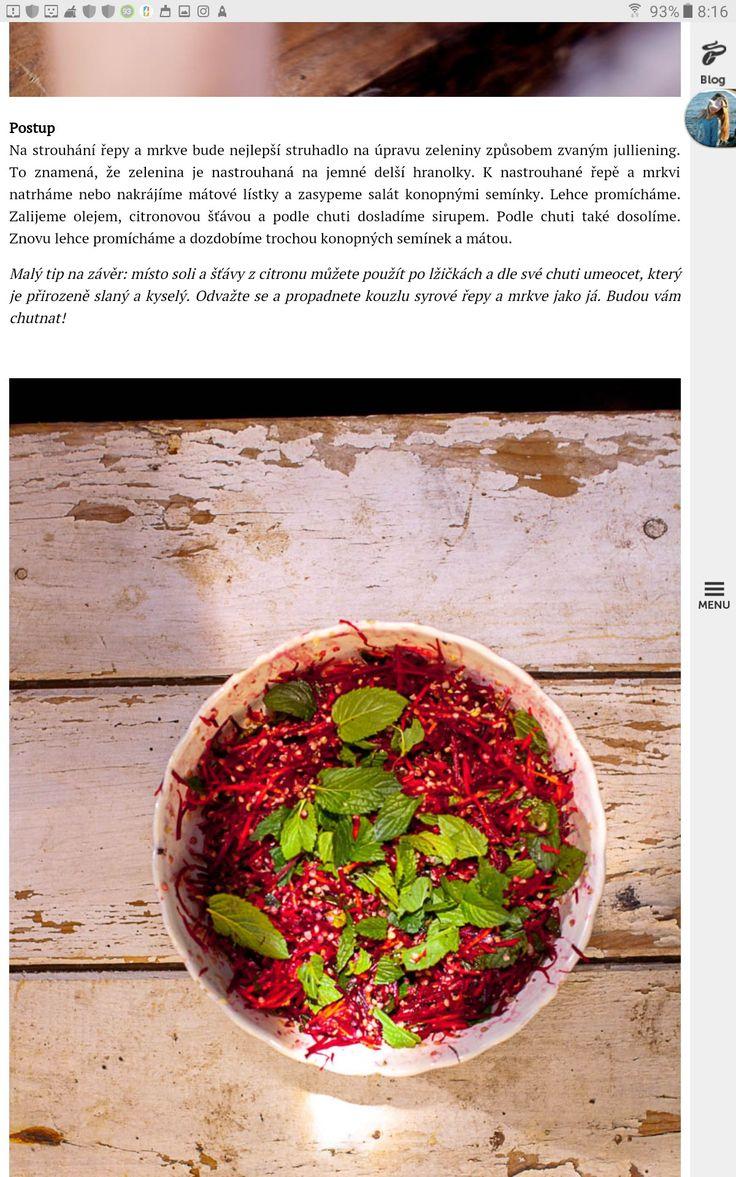 Salat z cervene repy