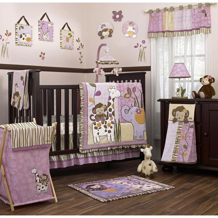cocalo jacana 9 piece crib bedding set babies r us jungle theme and baby girls. Black Bedroom Furniture Sets. Home Design Ideas