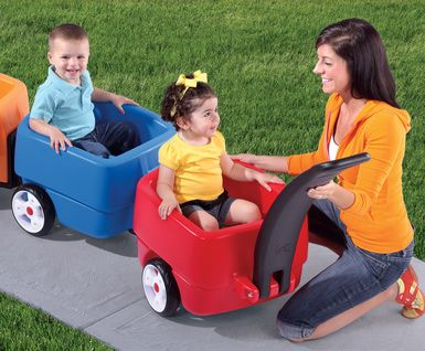 8 of the best wagons for kids as seen on toys.about.com featuring the step2 choo choo wagon!