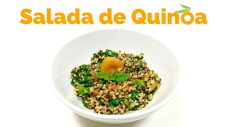 Salada de Quinoa – Quente ou Gelada! | Nutrição, saúde e qualidade de vida