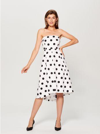 b456bbaaa1cd Bavlněné puntíkované šaty - vícebarevná - UQ127-MLC - mohito ...