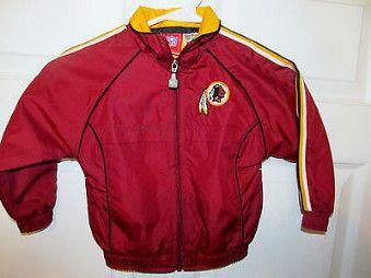 Reebok Washington Redskins jacket , Toddler 3T - Football-NFL