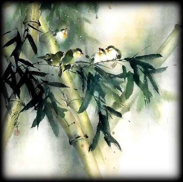 Art Du Sumi E Avec Images Aquarelle Japonaise Peinture