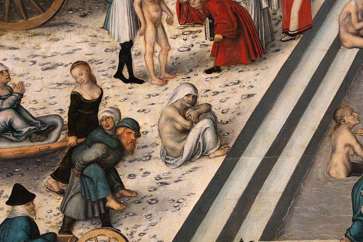 File:Cranach il vecchio, la fontana della giovinezza, 1546, 03.JPG