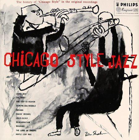 Chicago Style Jazz. Cover art: Ben Shahn