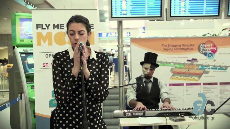 Δείτε τους Opera Chaotique στο perform in art show, ύμνο στον έρωτα, που πραγματοποιήθηκε στις 14 Φεβρουαρίου στο αεροδρόμιο της Αθήνας.  Περισσότερες πληροφορίες: http://www.elculture.gr/theater/opera-chaotique-fly-me-to-the-moon-798522 #music #art #culture