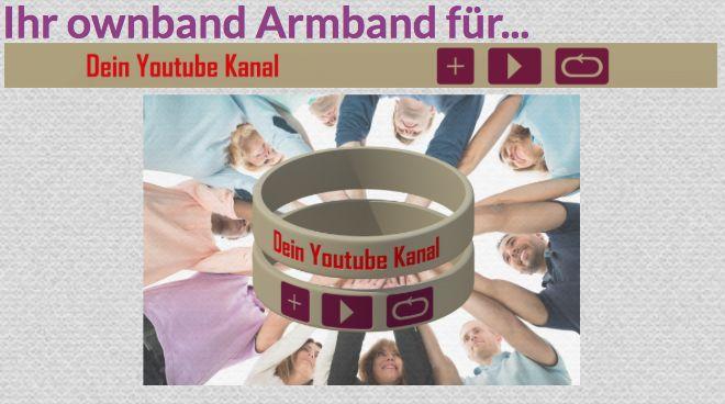 #ownband #Armband #Youtube #DiY