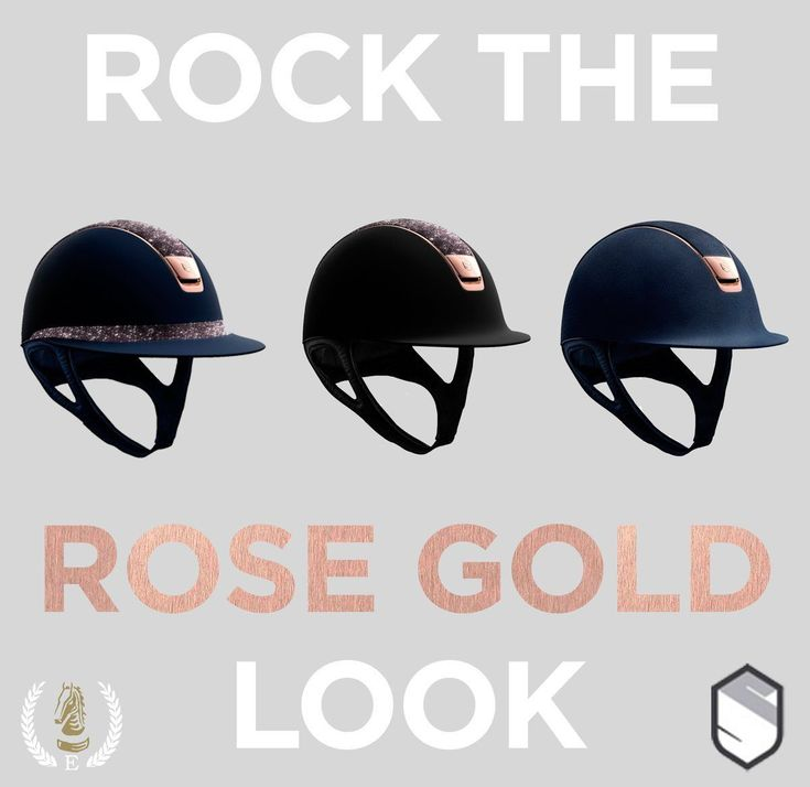Samshield's New Rose Gold Collection - https://www.equiport.co.uk/blog/article/rock-the-rose-gold-look/ … #Equestrian #RoseGold #Samshield #RidingHats