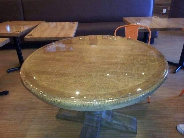 Epoxy Queen Coatings: Table top at The Melt Restaurant in Boynton Beach,...