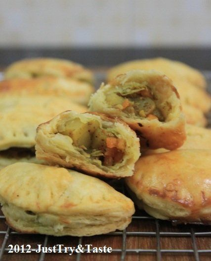 Just Try & Taste: Samosa Panggang Isi Sayuran dengan Kulit Pastry Renyah Berlapis yang Cepat Saji