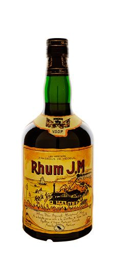 Rhum J.M. VSOP. Rhum Agricole is made directly from cane sugar rather than molasses, and the unique terroir of this Agricole creates a complexity and subtlety that sets it apart from the pack. My favorite sipping rum.