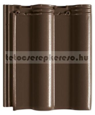 Creaton Maxima sötétbarna engóbozott tetőcserép akciós áron a tetocserepkereso.hu ajánlatában