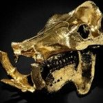Pablo Escobar's Gold-Plated Hippo Skull