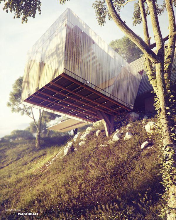 the Bridge resto by studio Wastubali, via Behance