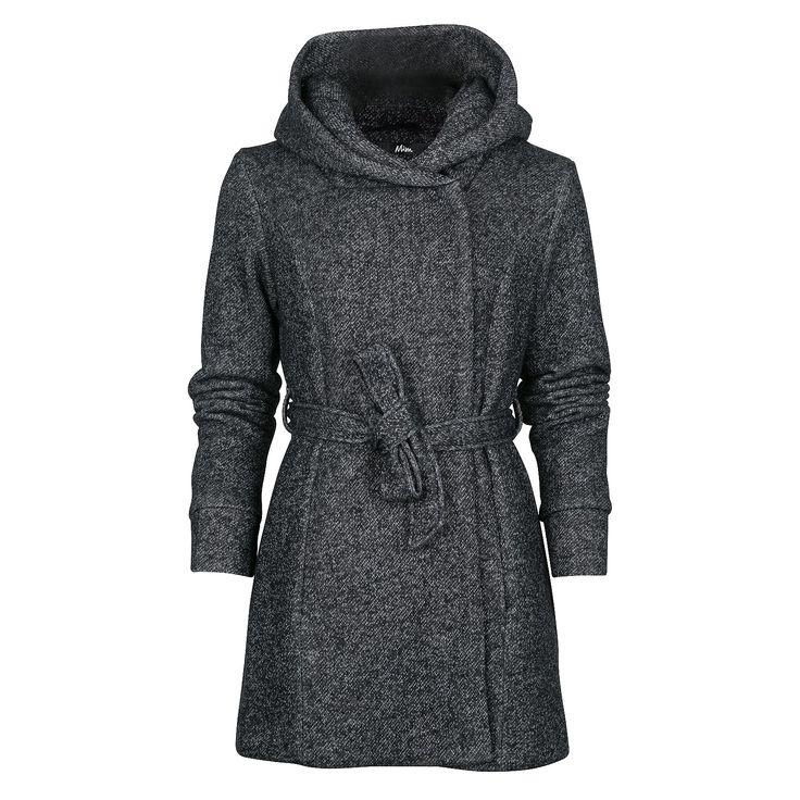 Manteau femme à capuche #mim