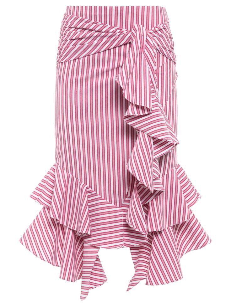 4242d8ffc Trazo de esta falda Rallas | faldas | Faldas tubo, Falda olanes y Faldas