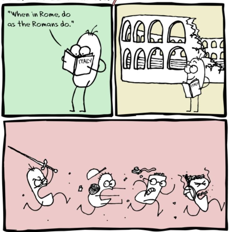 when in rome do as the roman do essay