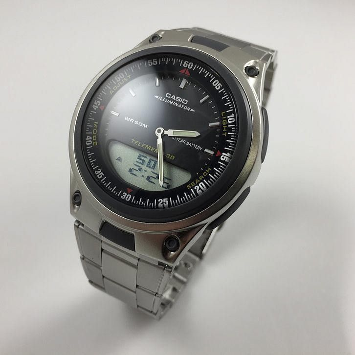 Mens Casio Digital Analog Sport Watch AW80D-1AV