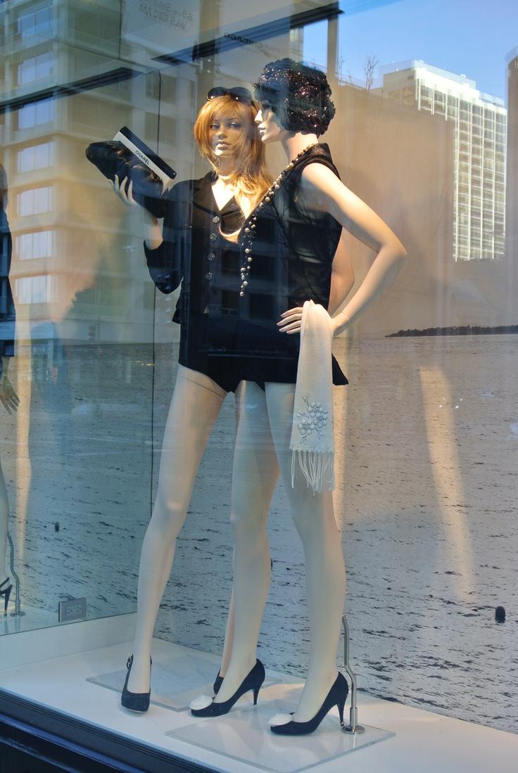 Chanel Window Display.  Michigan Avenue.