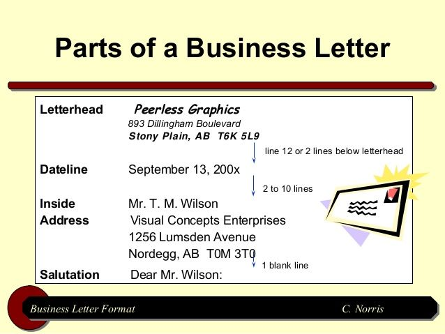 BusinessLetterFormatJpgCb  Cv