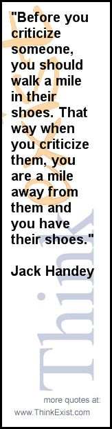 I miss quoting Jack Handy with my college roommates.  I have never heard this one.