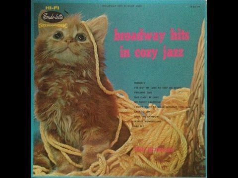 """The Revelers """"Broadway Hits In Cozy Jazz"""" 1960 STEREO LP Space Age Mood Lounge…"""