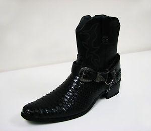 Men's Snakeskin Cowboy Boots