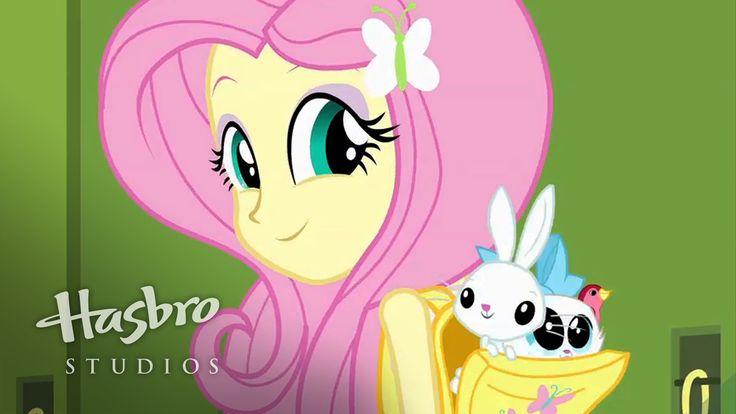 MY LITTLE PONY: Equestria Girls - Conoce a Fluttershy