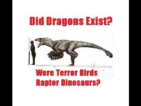 Reality of Myth - Did Dragons Exist? Of Phorusrhacidae, Raptors, and Dra...