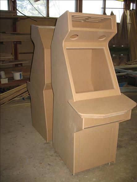 All CNC machined arcade cabinet kit