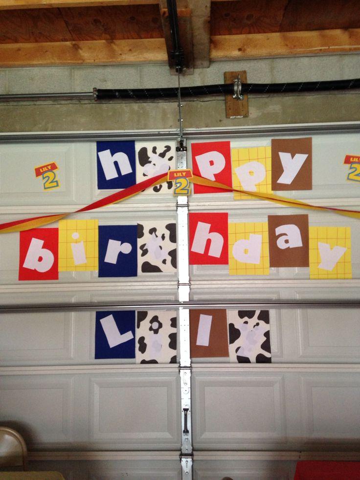 Toy Story Theme Birthday Party 2nd Birthday Party