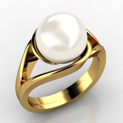 Sphere Cream Freshwater Cultured Pearl 9K Yellow Gold Ring - Design beauty in exactly your own way and fashion and let the theme of the ocean take over. Let the waves carry your dreams wherever they may!