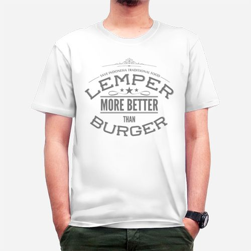 Lemper Indonesia Traditional Food dari Tees.co.id oleh The Curves