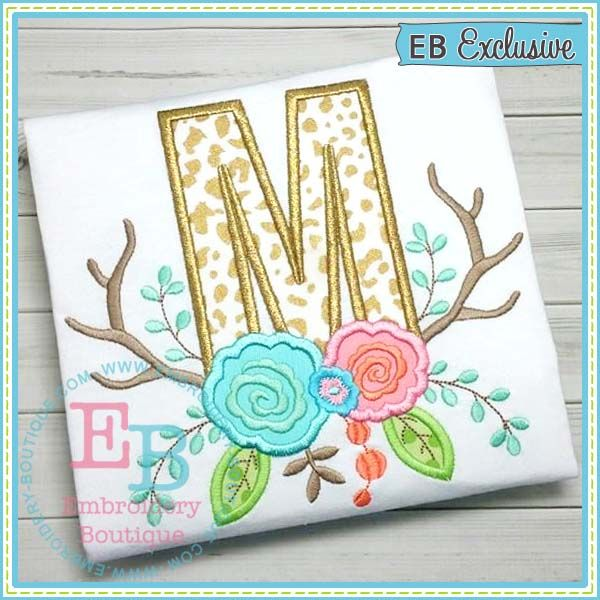 applique and monogram machine