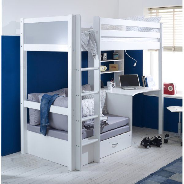 Booth European Single High Sleeper Bed High Sleeper Bed Bunk
