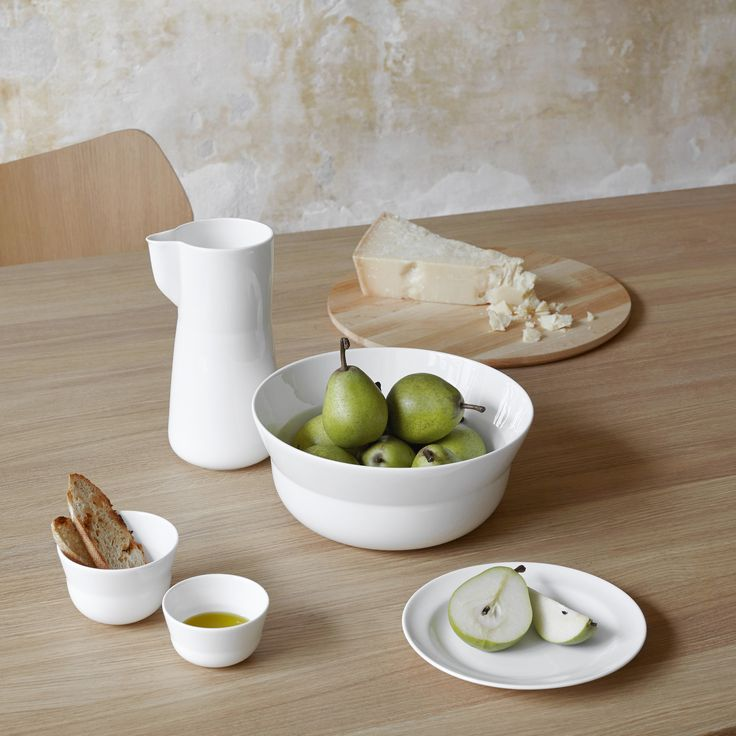 The Kaolin range is the epitome of simple Nordic design, paving the way for culinary creativity.