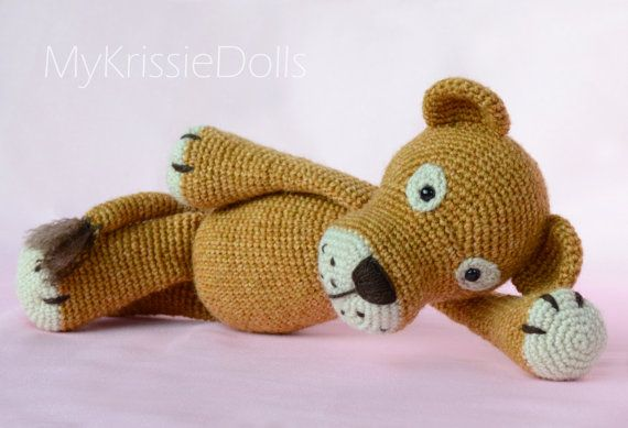 Crochet pattern  Lisa and Leo Lion