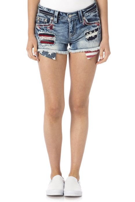 """Check out """"Firecracker American Shorts"""" from Miss Me"""
