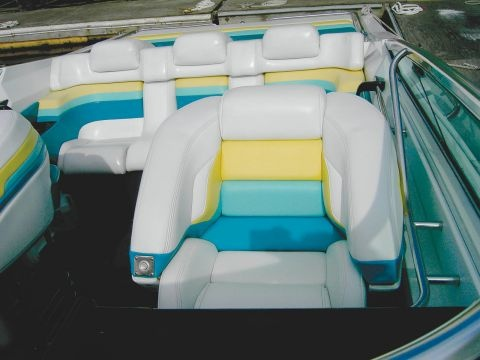 Award of Excellence for marine upholstery: Formula ...