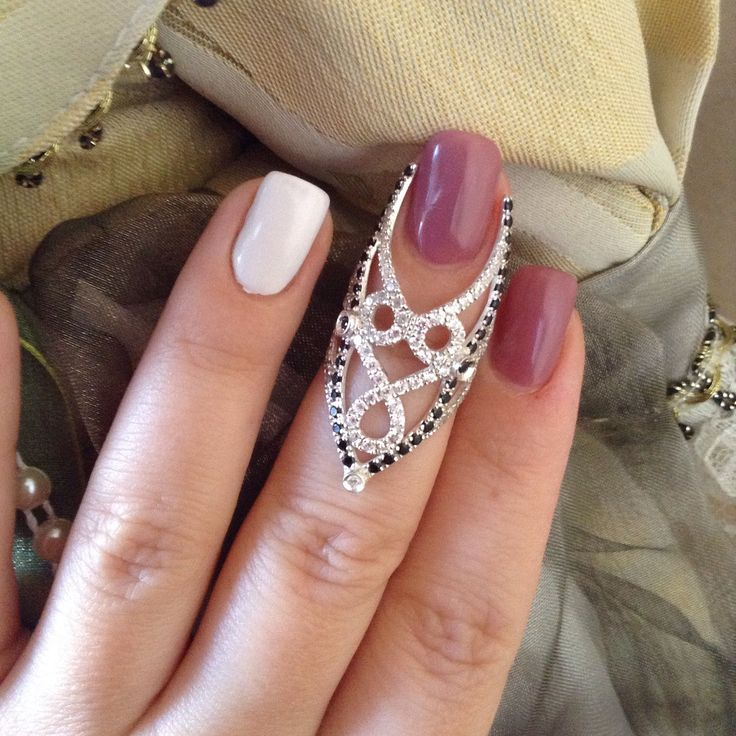 Best Gift. Сеебряное кольцо на ноготь — GK by Marie Miranian @ LMBD