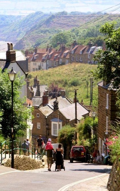 Robin Hoods Bay, North Yorkshire, England