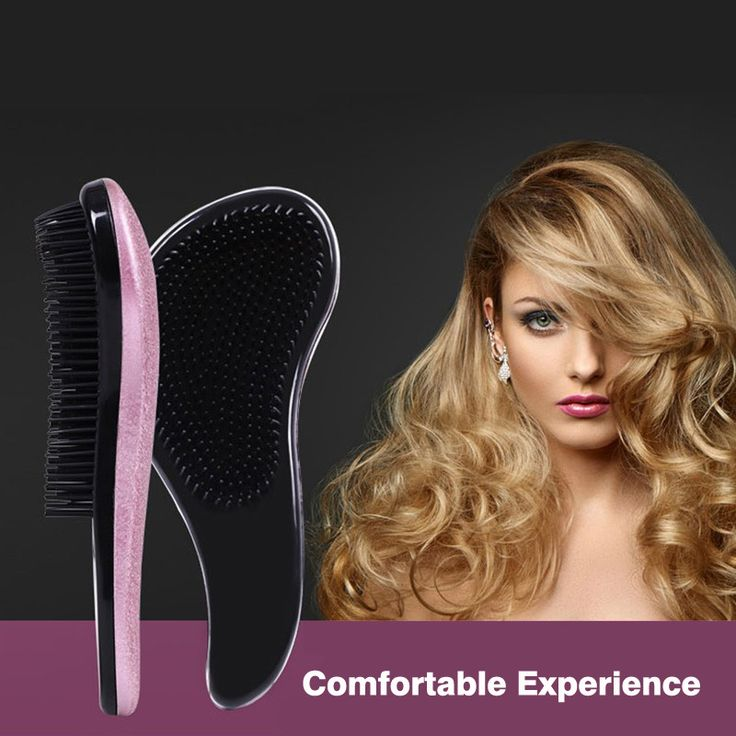 1pc Tangle Hair Brush Magic Handle Detangling Comb Salon Styling Tamer Tools Anti-static Hair Care Brushes