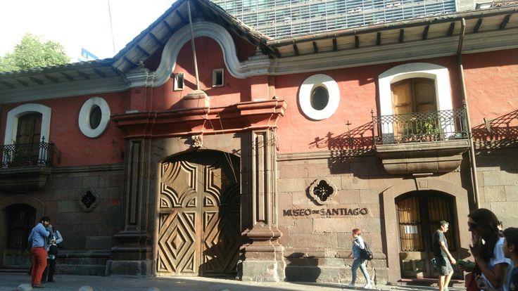 Plaza de armas Casa colorada