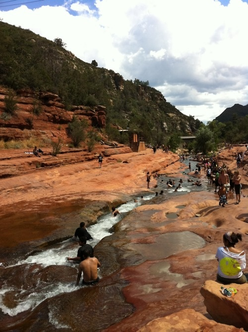 Slide rock in sedona phoenix i was here pinterest for Cabine vicino a slide rock sedona