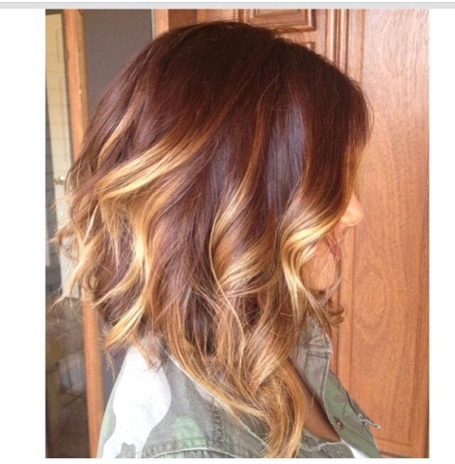 I wanna do my hair like this color wise!