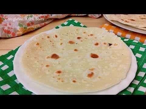 Piadine con farina di riso – senza glutine