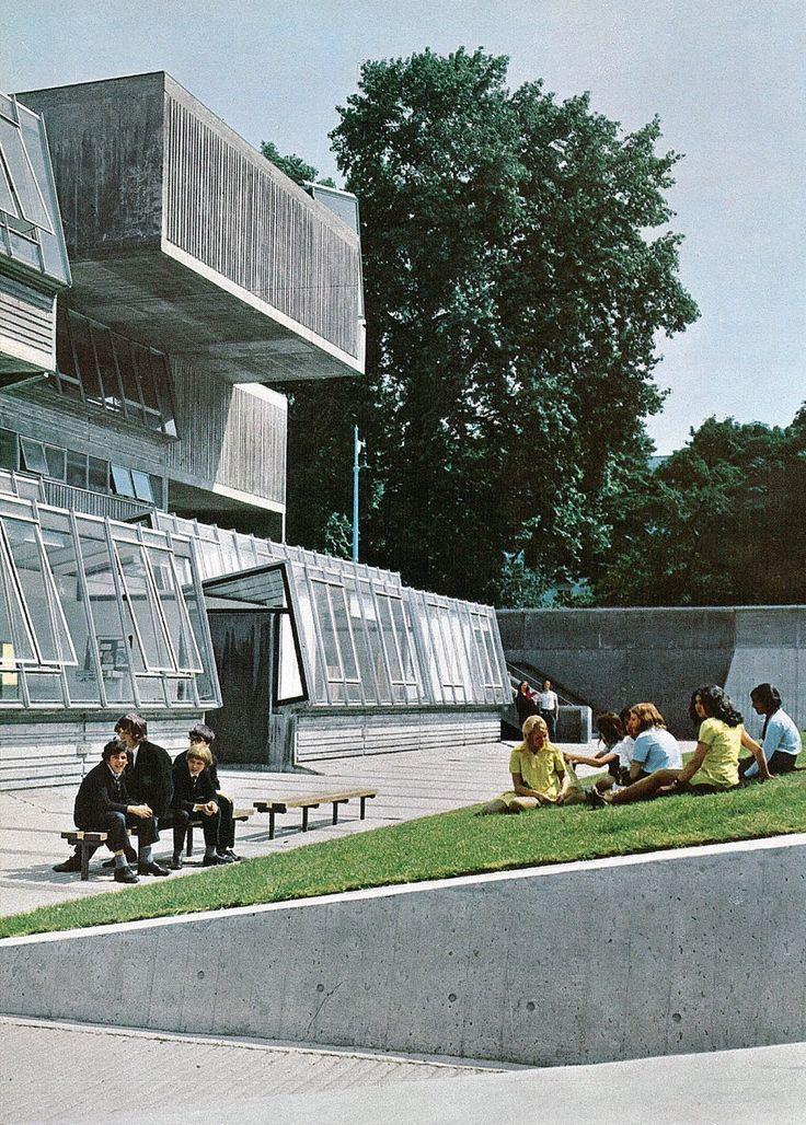 Pimlico School   1970   Pimlico, London, England   John Bancroft