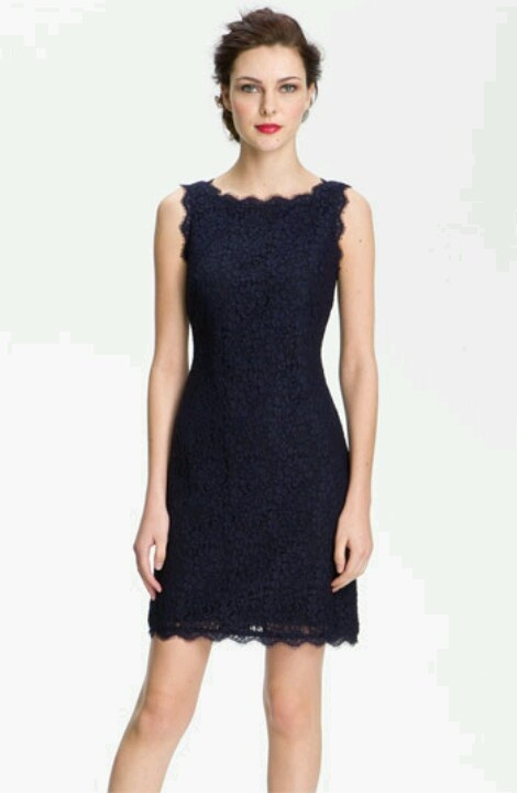 Navy blue lace dress for wedding cheap