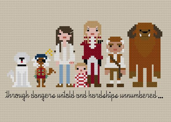Labyrinth stitch: Pdf Crosses, Crosses Stitches Patterns, Labyrinths Crosses, Crossstitch, Pixel People, Cult Movie, Cross Stitch Patterns, Crosses Stitchin, Cross Stitches
