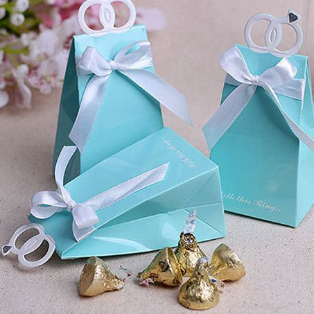 Alibaba グループ | AliExpress.comの イベント、パーティー用品 からの CD23 Free Shipping 5 Pcs/Lot Mini Macaron Storage Box For Jewelry Candy Small Thing Organizer Candy Boxes Storage BoxesU 中の cd16100個ティファニーブルーダイヤモンドリングスタイルの愛鳥のスタイルの結婚式の好意箱キャンディボックスの結婚式の装飾ギフトボックス